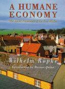 A Humane Economy Book