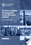 On-farm Irrigation Development Project in the Old Lands (OFIDO)