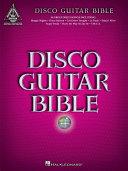 Disco Guitar Bible (Songbook)