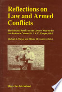 Reflections on Law and Armed Conflicts