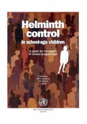 Helminth Control in School age Children