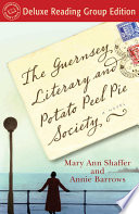 The Guernsey Literary and Potato Peel Pie Society (Random House Reader's Circle Deluxe Reading Group Edition) image