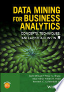 Cover of Data Mining for Business Analytics
