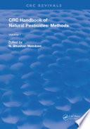Handbook of Natural Pesticides  Methods
