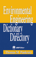 Special Edition   Environmental Engineering Dictionary and Directory