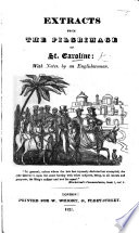 Extracts from the Pilgrimage of St  Caroline Book