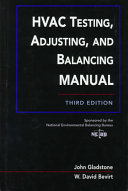 HVAC Testing  Adjusting  and Balancing Field Manual Book