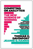 Cover of Competing on Analytics: Updated, with a New Introduction