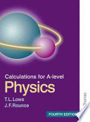 Calculations for A-level Physics