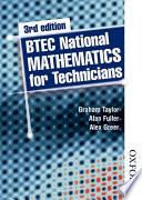Btec National Mathematics For Technicians