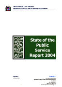 State of the Public Service Report