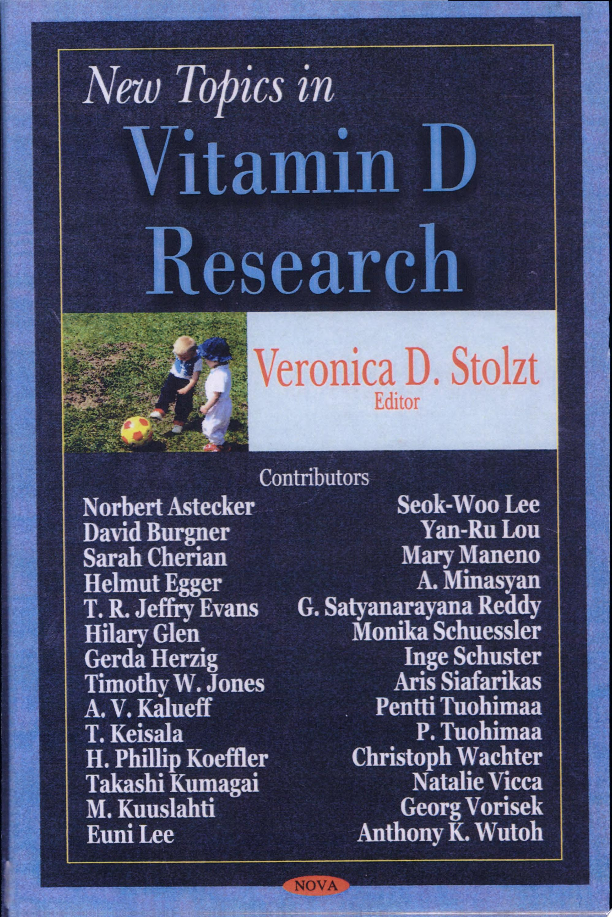New Topics in Vitamin D Research