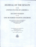 Journal of the Senate of the United States of America Book