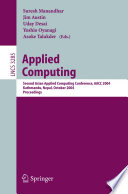 Applied Computing Book