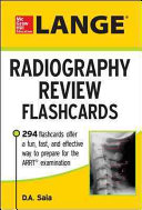 LANGE Radiography Review Flashcards Book