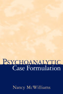 Psychoanalytic Case Formulation