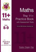 11+ Maths Practice Book with Assessment Tests (Age 8-9) for the CEM Test