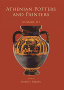 Athenian Potters and Painters III