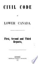 Code Civil Du Bas Canada