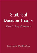 Statistical Decision Theory