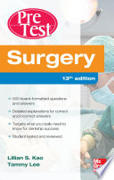 Surgery PreTest Self Assessment and Review  Thirteenth Edition