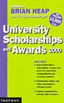 University Scholarship and Awards 2000