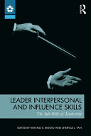 Leader Interpersonal and Influence Skills
