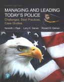 Managing and Leading Today s Police