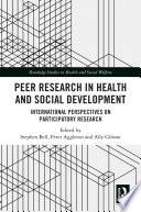 Peer Research In Health And Social Development