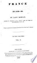 France in 1829 30 Book