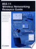 802 11 Wireless Networking Resource Guide Book