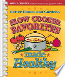 Slow Cooker Favorites Made Healthy Book PDF