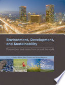 Environment  Development  and Sustainability Book
