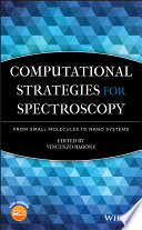 Computational Strategies for Spectroscopy