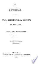 The Journal of the Royal Agricultual Society