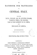 Handbook for travellers in central Italy  by O  Blewitt