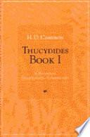 Thucydides Book 1