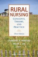 Rural Nursing, Third Edition