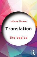 Translation: The Basics Pdf/ePub eBook