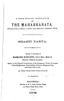 A Prose English Translation Of The Mahabharata Book PDF
