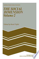 The Social Dimension  Volume 2