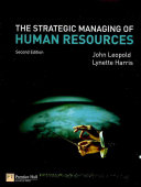The Strategic Managing of Human Resources