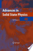 Advances In Solid State Physics 48 Book PDF