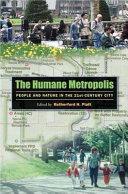 The Humane Metropolis Book