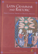 Latin Grammar and Rhetoric