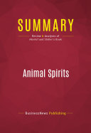 Summary  Animal Spirits
