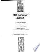 Sub-Saharan Africa: a Guide to Serials