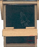 Bookchair Mini Praying Hands Green