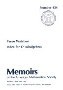 Index for C^*-Subalgebras