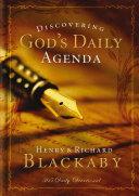 Pdf Discovering God's Daily Agenda